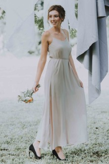 Leia Maxi Dress in Sand