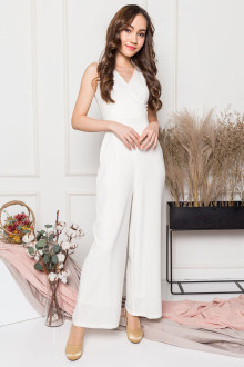 Alyssa Jumpsuit in White